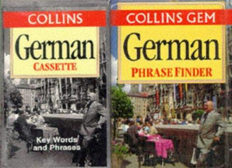 Collins Gem German Phrase Finder: The Flexible Phrase Book (German Edition)