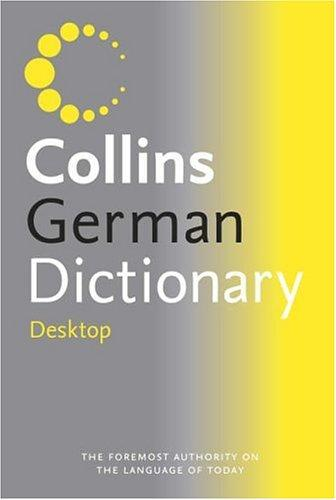 Collins Desktop German Dictionary: Desktop