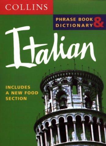 Italian Phrase Book & Dictionary (Collins phrase book & dictionary) (Italian Edition)