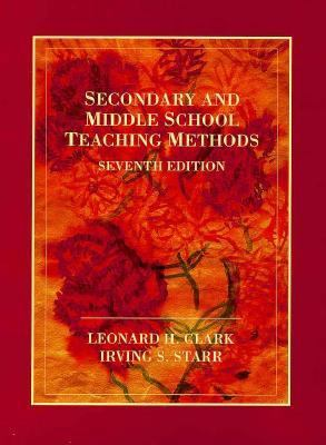 Secondary and Middle School Teaching Methods