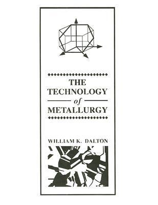 Technology of Metallurgy