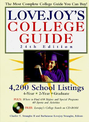 Lovejoy's College Guide 1998 - Charles T. Straughn - Paperback - 24TH BK&CD