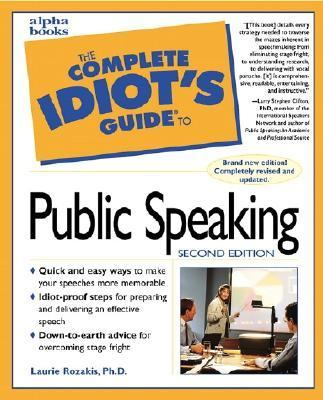 Complete Idiot's Guide to Public Speaking