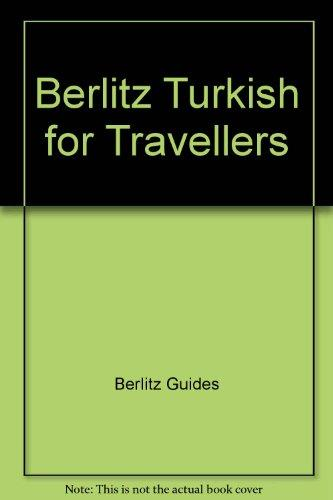 Berlitz Turkish for Travellers