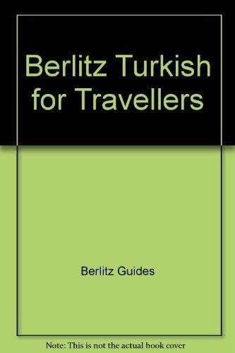 Berlitz Turkish for Travellers