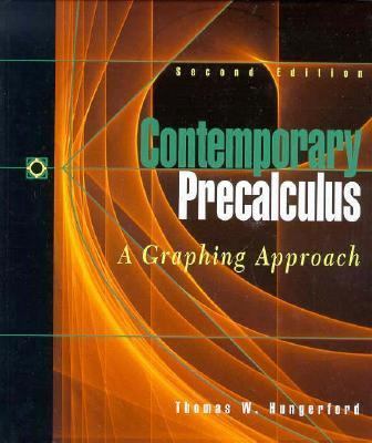 Contemporary Pre-Calculus A Graphing Approach