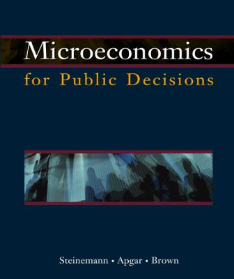 Microeconomics for Public Decisions with Infotrac