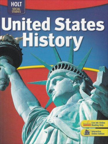 Holt (MI) United States  city photos gallery : Holt United States History: Student Edition 2007 | Rent 9780030726873 ...