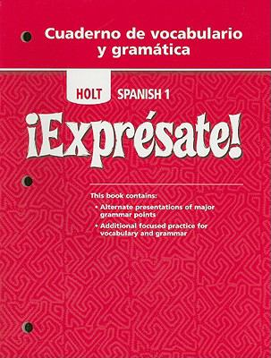 Expresate 2: Cuaderno de Vocaciones - Holt, Rinehart and Winston Staf - Paperback
