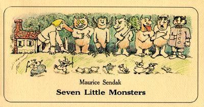 Seven Little Monsters - Maurice Sendak - Paperback - REISSUE
