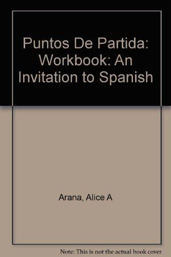Workbook to Accompany Puntos de Partida: An Invitation to Spanish