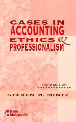 ethics and professionalism in accounting Despite opposition, instruction on accounting ethics by universities and conferences, has been encouraged by professional organizations and accounting firms the accounting education change commission (aecc) has called for students to know and understand the ethics of the profession and be able to make value-based judgments.