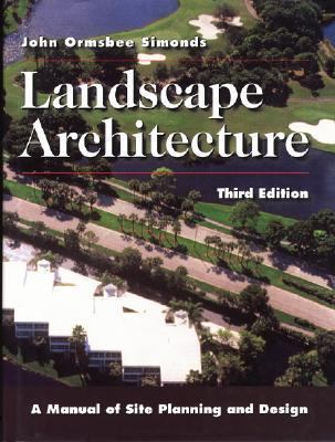 Landscape Architecture A Manual Of Site Planning And Design 3rd Edition Rent 9780070577091