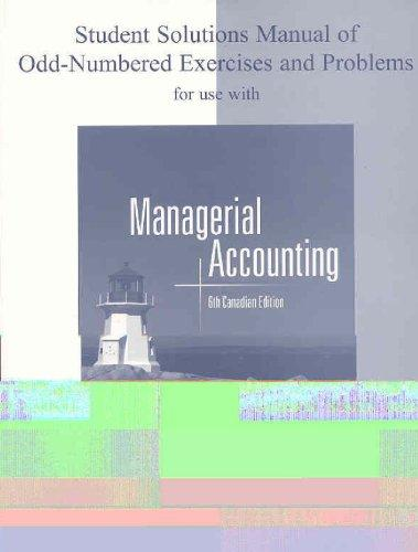 managerial accounting 6th edition pdf