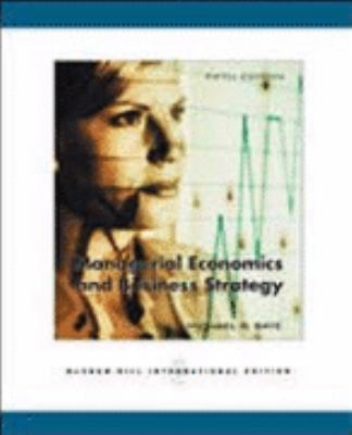 Managerial Economics and Business Strategies -with CD (International Edition) - Baye - Paperback