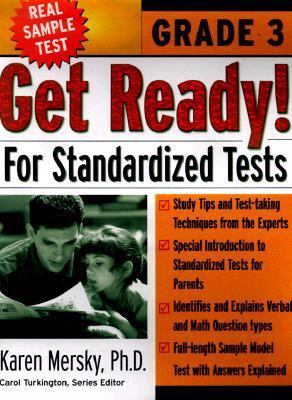 Get Ready for Standardized Tests, Grade 3 Test Preparation Series