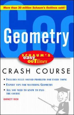Schaum's Easy Outlines Geometry | Rent 9780071369732 ...