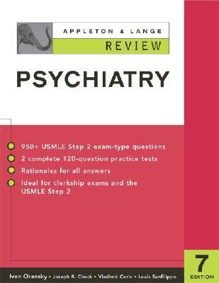 Appleton & Lange Review of Psychiatry