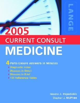 Current Consult Medicine 2005 a LANGE medical book