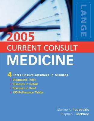 CURRENT CONSULT Medicine 2005 Value Pack - Maxine A. Papadakis - Other Format