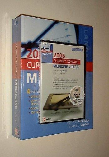 Current Consult Medicine 2006 Book/PDA Value Pack