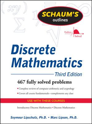 Schaum's Outline of Discrete Mathematics, Revised Third Edition (Schaum's Outline Series)