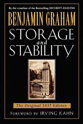 Storage and Stability: The Original 1937 Edition