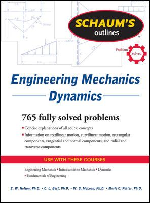 Schaum's Outline of Engineering Mechanics Dynamics (Schaum's Outline Series)