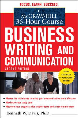 McGraw-Hill 36-Hour Course in Business Writing and Communication, Second Edition (McGraw-Hill 36-Hour Courses)
