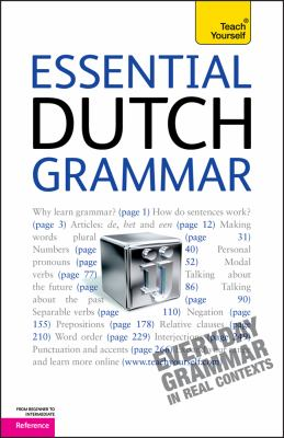 Essential Dutch Grammar: A Teach Yourself Guide