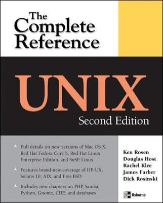 Unix The Complete Reference