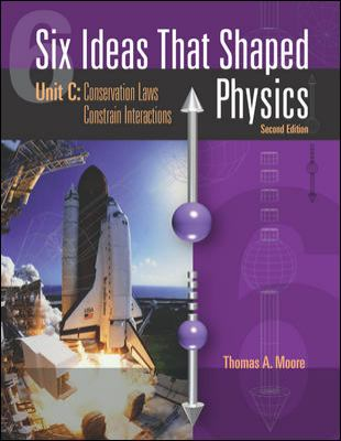 Six Ideas That Shaped Physics: Unit C: Conservation Laws Constrain Interactions