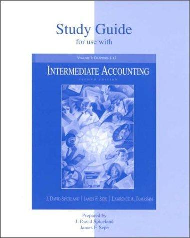 Intermediate Accounting Ii Case Study Solution and ...