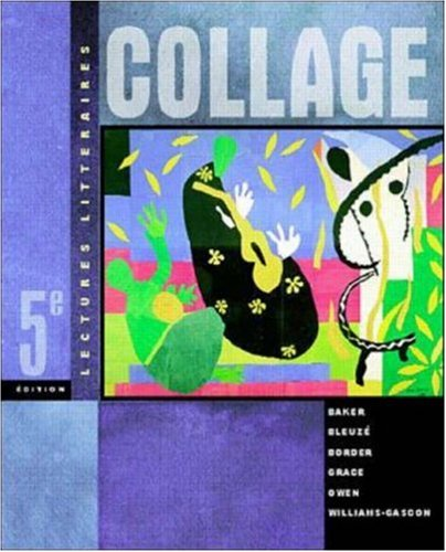Lectures Litteraires Collage