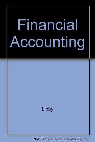 Student CD-ROM for use with Financial Accounting