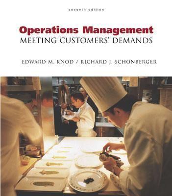 Operations Management Meeting Customers' Demandss