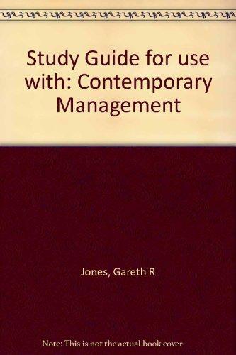 contemporary management 3rd edition pdf