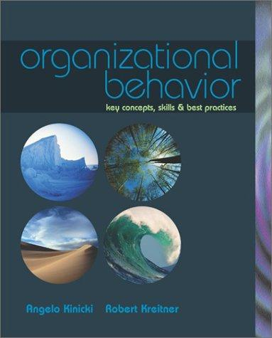 Key concepts of organizational behavior