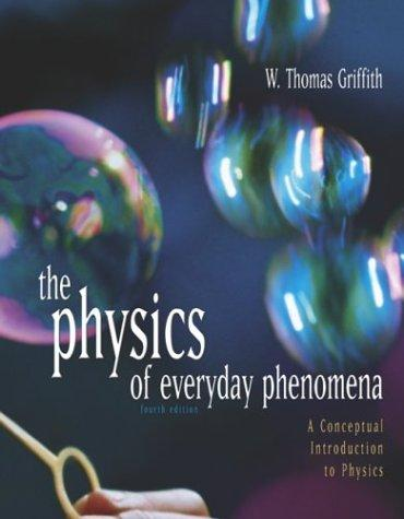 the physics of everyday phenomena What are some examples of everyday phenomena that are counter-intuitive  what everyday phenomena are illuminated  who've done a high-school physics.