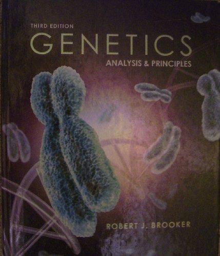Genetics: Analysis & Principles