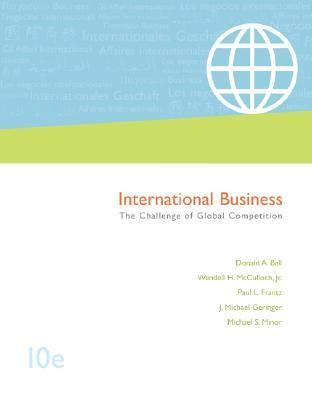 International Business: The Challenge of Global Competition, with CESIM and OLC access card