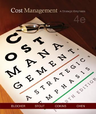 Cost Management A Strategic Emphasis