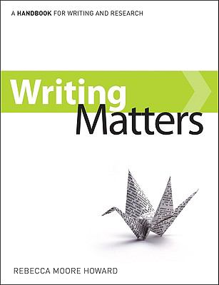 Writing Matters, tabbed (Spiral-bound)