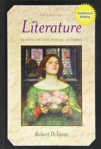 Literature: Reading Fiction, Poetry, and Drama [With CDROMWith Book]