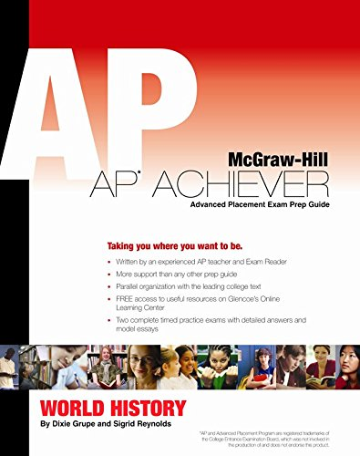 Ap Achiever Advanced Placement Exam Preparation Guide for Ap World History