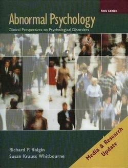 Abnormal Psychology Update
