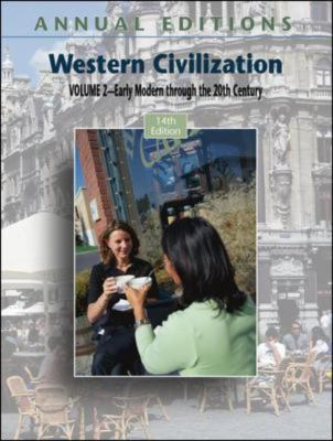 Western Civilization SThe Earliest Civilizations Through the Reformation