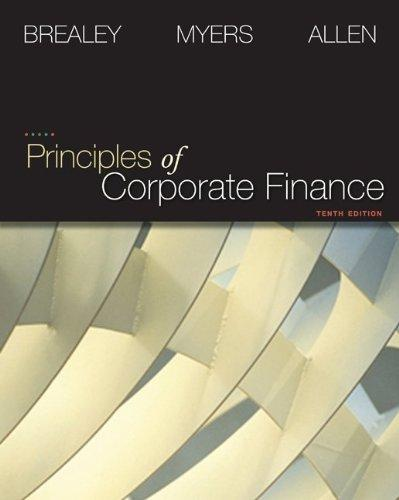 Principles of Corporate Finance (Finance, Insurance, and Real Estate)