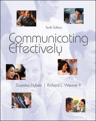 Communicating Effectively