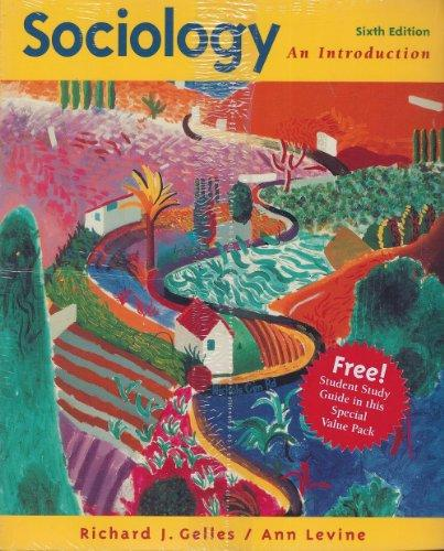 Sociology: An Introduction With Student Guide Package